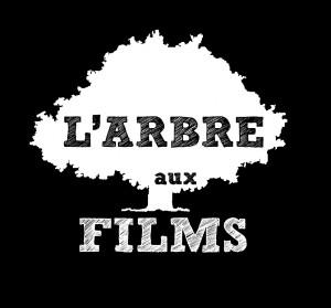 LOGO ARBRE AUX FILMS blanc sur noir