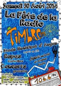 Affiche fête des timbrés 2014 moy