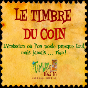 Le Timbre Du Coin-en Direct !